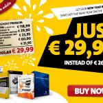 CyberGhost Winter Bundle: 90% discount